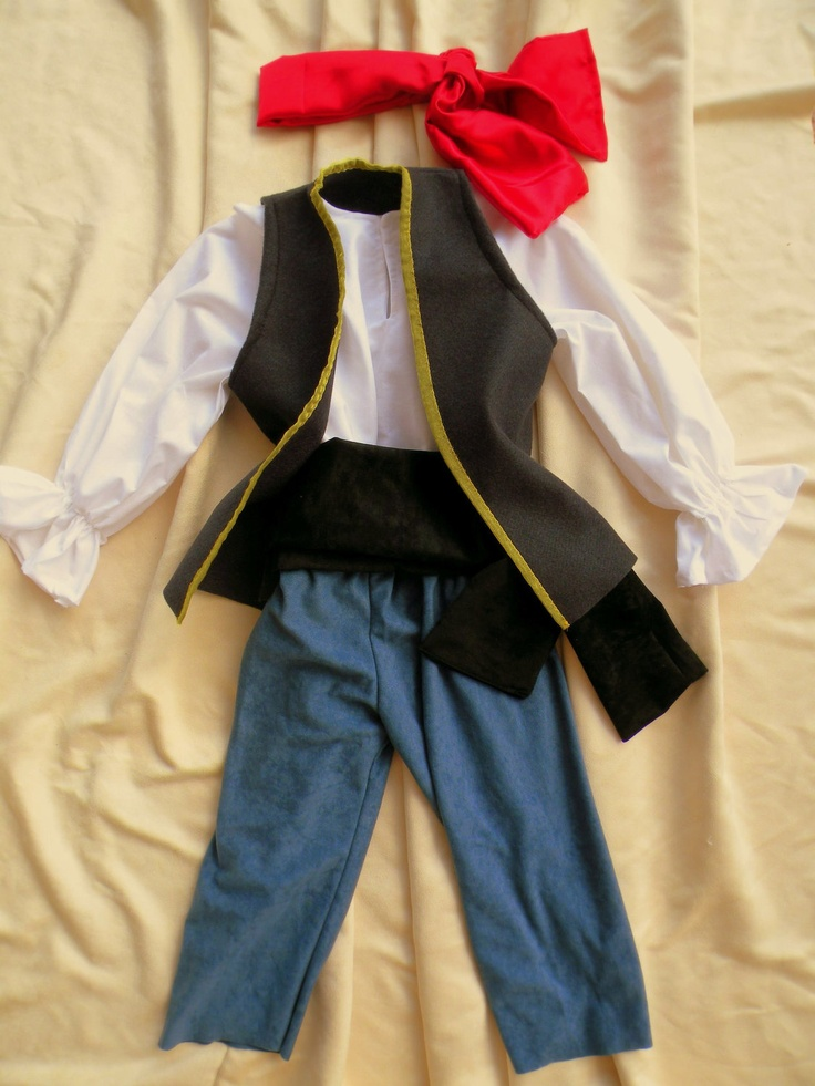 Pirate Pirates Boy Halloween Costume child Blue by MainstreetX, $48.99