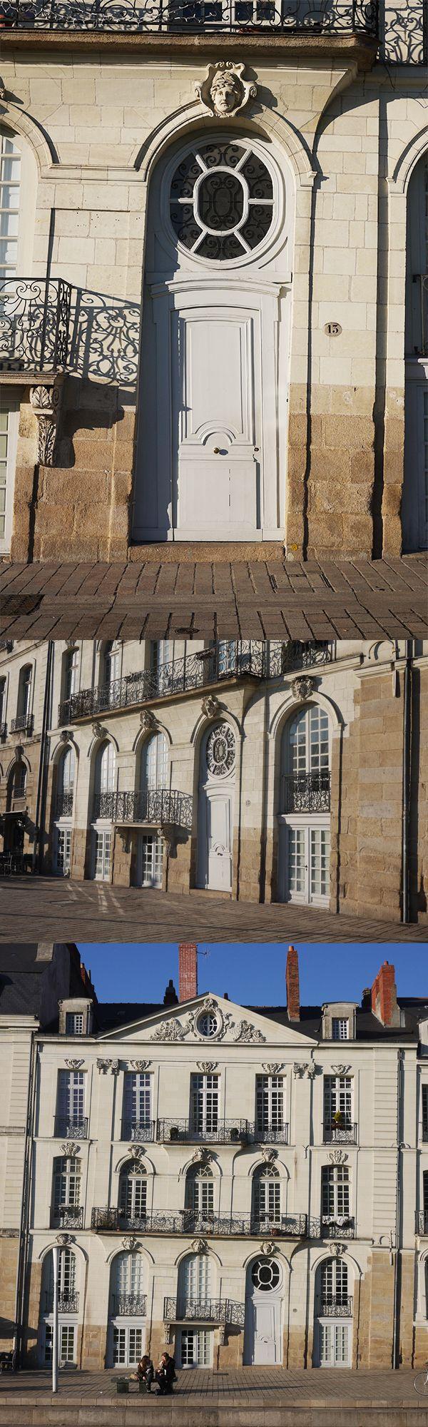 Twisted building - Immeuble Perraudeau 1752 - 13 quai Turenne - Nantes - France