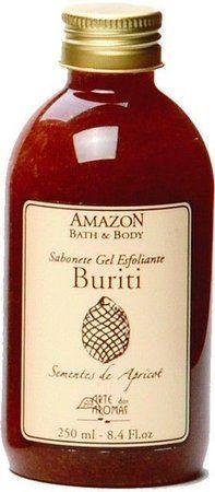 Sabonete Esfoliante Buriti com Sementes de Damasco 250ml - Arte dos Aromas