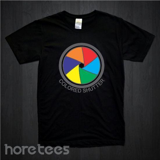 Colored Shutter dari tees.co.id oleh Hore Tees
