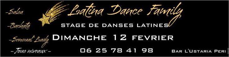 STAGE De Danses Latines à Peri le 12 février » Corsevent