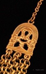 Detail of Vintage Kalevala Koru jewelry.