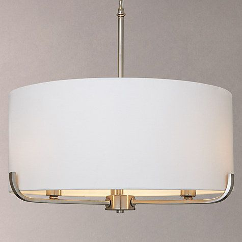 Buy John Lewis Jamieson Pendant, White Online at johnlewis.com