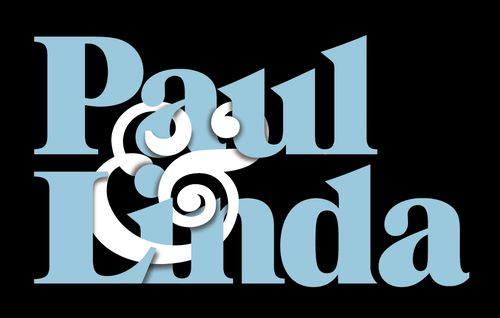 (But not anymore!)  Cool lettering.  I love the way the ampersand is intertwined between the letters.