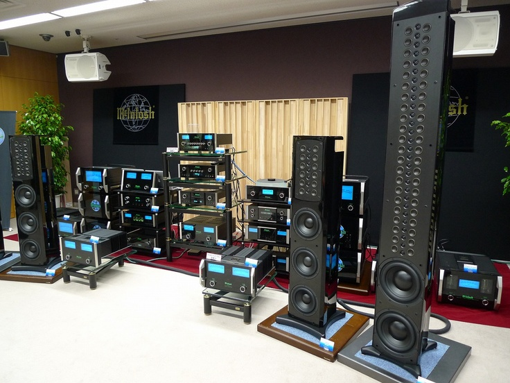 Wizard High-End Audio Blog: McIntosh at TIAS 2011