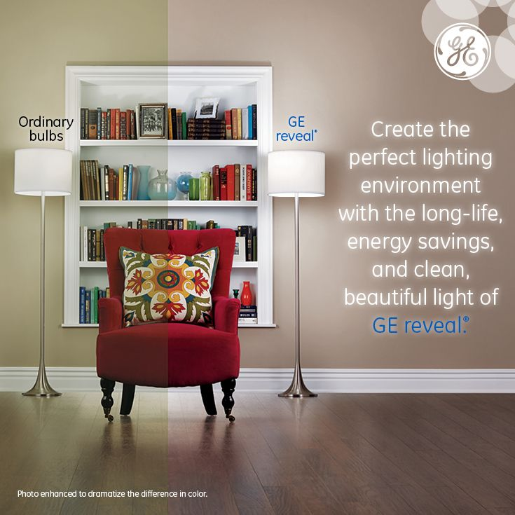 GE reveal allows you to create the perfect lighting environment throughout your home. #EnergySavings & 132 best GE Lighting 100 Reveal images on Pinterest | Bulbs ... azcodes.com