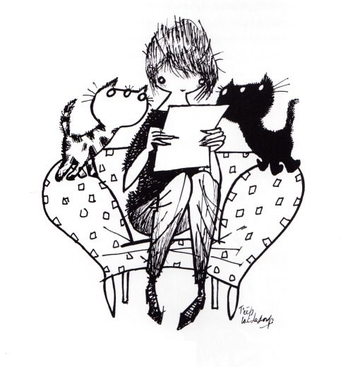 Pim & Pom, illustration by Fiep Westendorp.