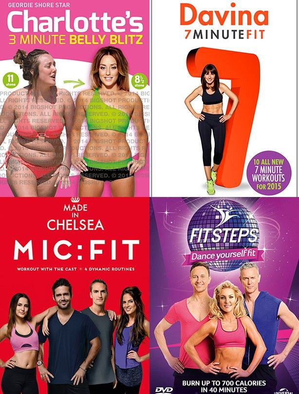 The best fitness DVDs for 2015