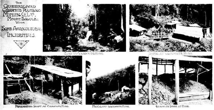 1907 Queensland Graphite Plumbago Mining Co Ltd at Mt Bauple