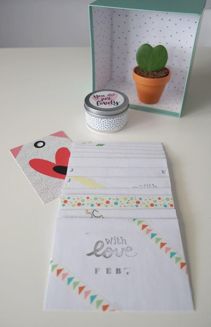DIY zum Valentinstag: Ein Jahr voller Dates (Eltern-Edition) für Verabredungen bei euch Zuhause