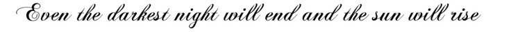 Tattoo idea for my collar bone on the right side. <3 Les Mis