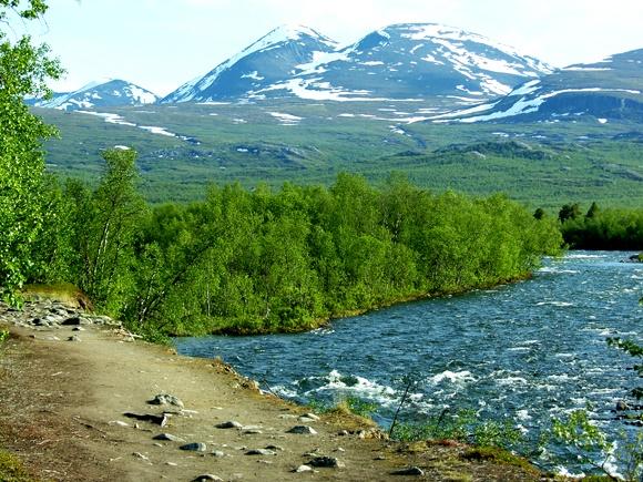 Kungsleden, King's Trail, Sweden
