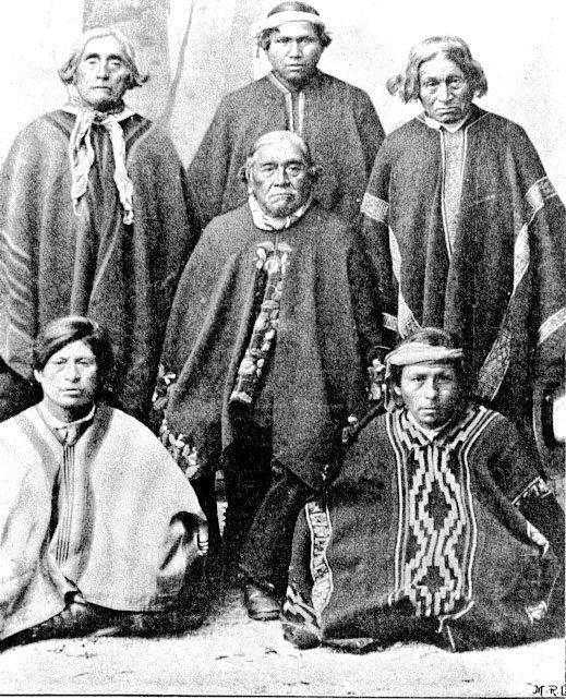pueblos originarios chilenos: mapuche