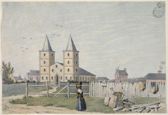 St. Johns Church of England, Parramatta NSW History