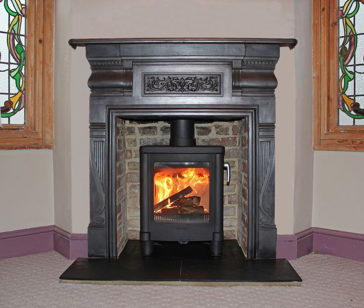 Big Black Woodstoves Pinterest Stove Open Fireplace