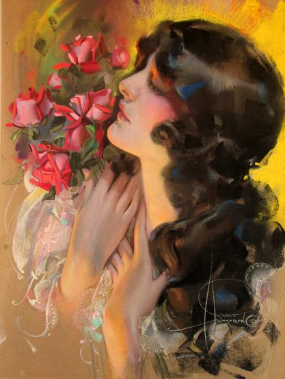 "rolf armstrong: ""the dream girl"" (1920)"