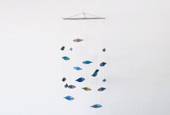 """Mobile Petits poissons de """"Dis pas non"""""""