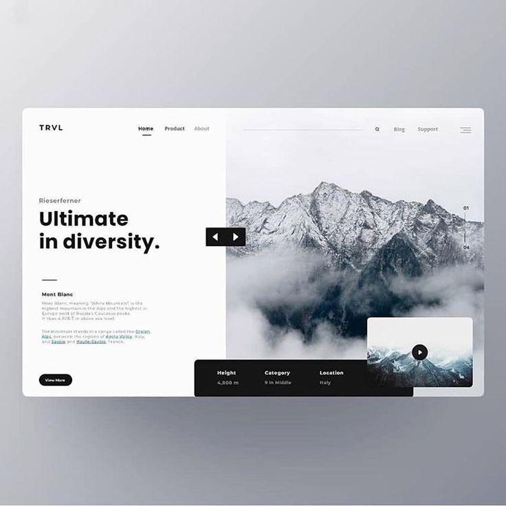 Siga a Emily Tribe.ui para inspirarse en el diseño. Etiqueta a un amigo que necesita ver …  – UIX