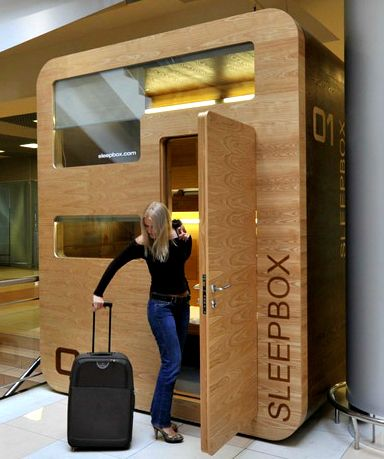 Sleep Capsule Hotels Tokyo Idea Gaining Popularity