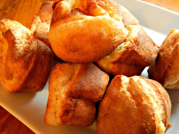 Pop Overs in a Muffin Tin - I have popover pans but like this recipe better!