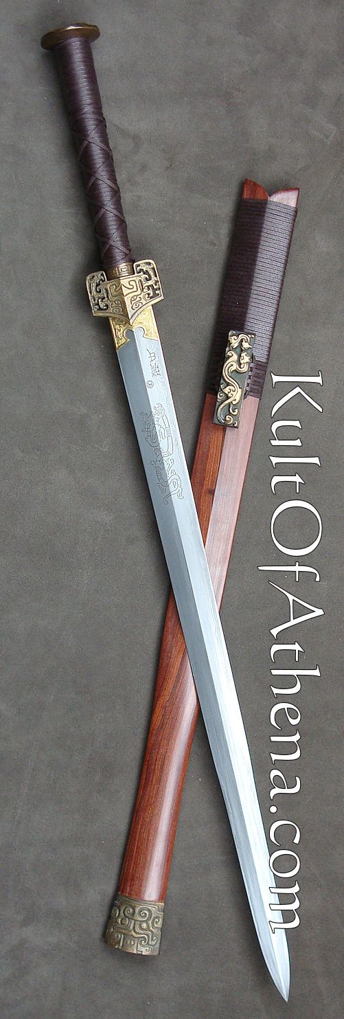 Chinese Han Dynasty Sword replica from Kult of Athena.                                                                                                                                                                                 More