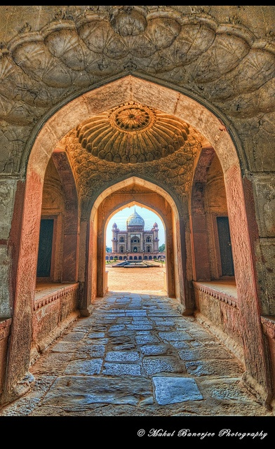 Safdarjung's Tomb Entrance, New Delhi, India, by Mukul Banerjee  New Delhi, India  http://www.travelandtransitions.com/destinations/destination-advice/asia/map-of-india-major-destinations/