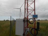 meteoeye datalogger: first installation in wind farm