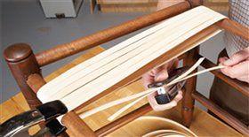 Καθίσματα πρόεδρος Παραδοσιακά Υφαντά - δημοφιλές περιοδικό Ξυλουργικές Εργασίες