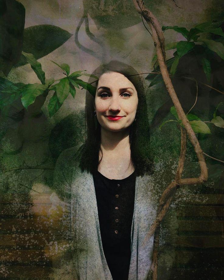 Mielikki Kaprinski #forest #goddess #kasvitieteellinenpuutarha