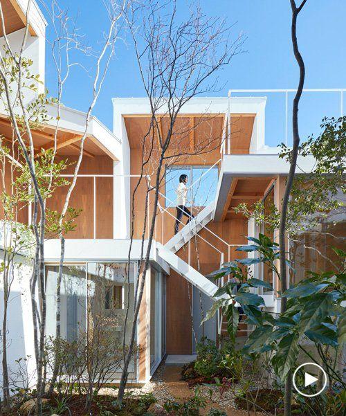 Tomohiro Hata Blurs Boundaries Between Interiors And Courtyard Of