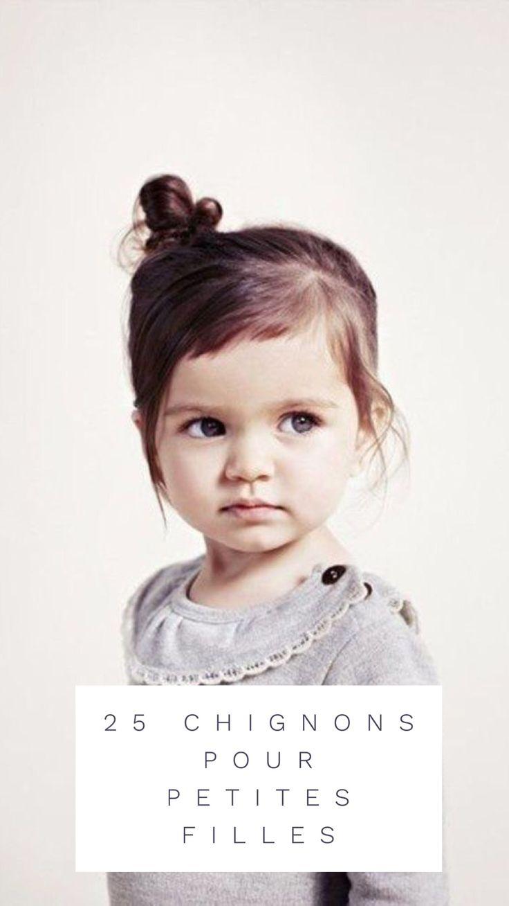 30 idées de chignons à croquer pour petites filles ! #cheveux #coiffure #petitefille #enfant #idee #originale #tendance #facile #fille #ecole #mariage #noel #rapide #chignon