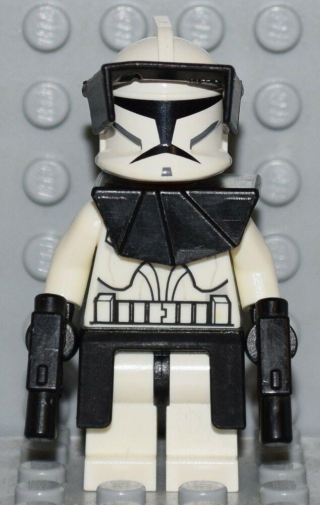 Lego Clone Commander 8014 minifigure Star Wars mini figure