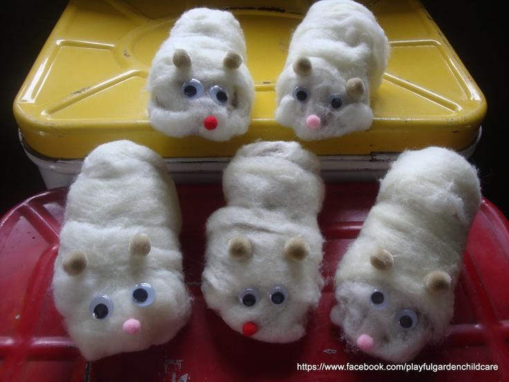 loo roll hamsters-Pet week