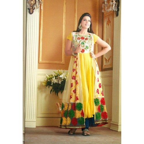 sonali bendre Bollywood Designer Anarkali dress - Online Shopping for Salwar Suit by ODFASHION