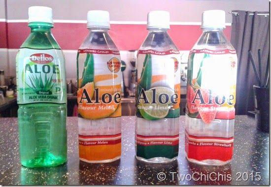 Aloe flavored drink-TwoChiChis