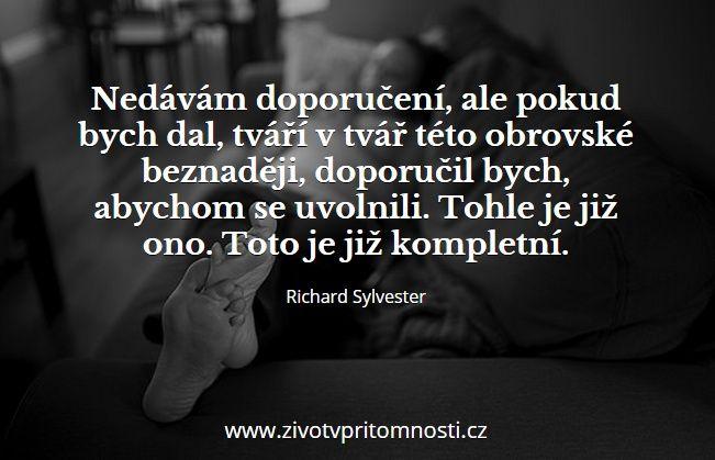 http://www.zivotvpritomnosti.cz/clanky/nikdo-tu-neni-richard-sylvester/