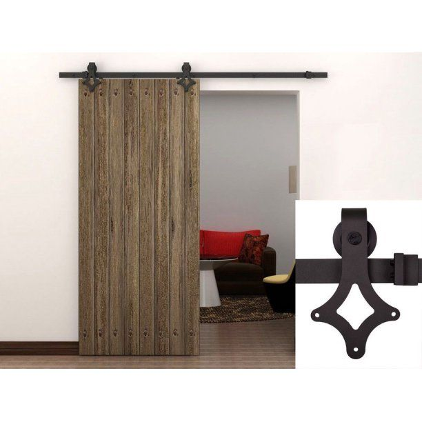 Tms Slidingdoorhardware Oj Tsq09 Orb Barn Wood Sliding Door Hardware Track Closet Set Country Antique Walmart Com Sliding Doors Interior Barn Doors Sliding Interior Sliding Barn Doors