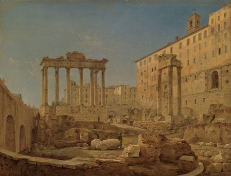Чернецов Григорий Григорьевич Римский форум 1840