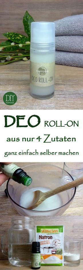 DEO ROLL-ON ganz einfach selber machen, ohne Aluminium und Alkohol Die Anleitung für meinDeo-Spray habe ich euch ja bereits vorgestellt: DEO SPRAY ganz einfach selbermachenIch stelle meine Deodo…