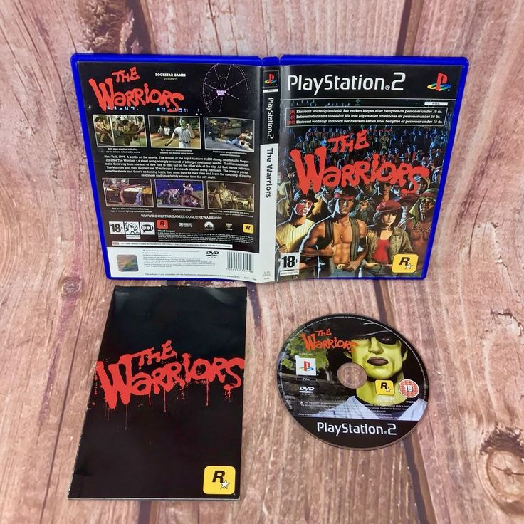 Ps2 video Game The Warriors PlayStation 2 battle fighting pal Complete VGC 18+