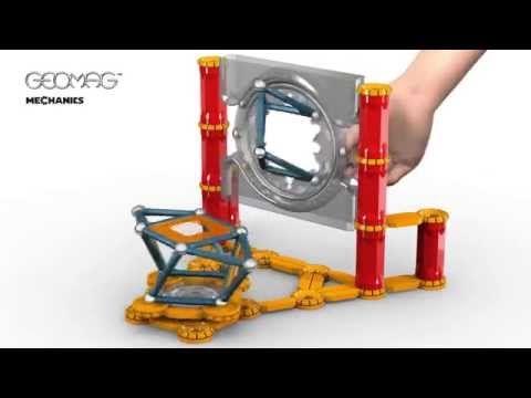 GEOMAG Mechanics klocki magnetyczne 146 elementów - Niskie ceny w sklepie Przydomu.pl Super pomysł na prezent dla dziecka :)