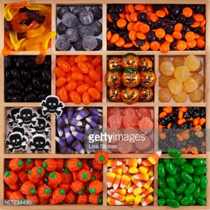 Stock Photo : Halloween Tray