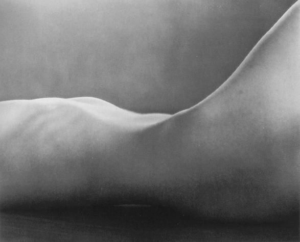 Edward Weston -- Nude 1925  © Center for Creative Photography, Arizona Board of Regents