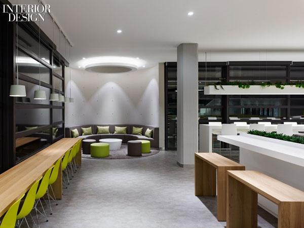 Firm: Dittel Architekten. Project: Breuninger Kantine, Stuttgart, Germany.