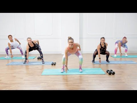 (69) Burn 300 Calories in 30 Minutes With This Workout With Weights - YouTube