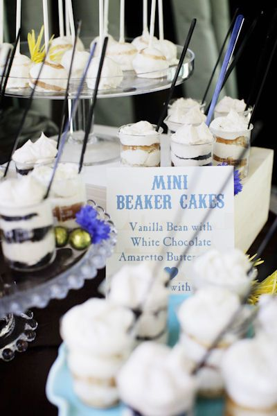 Photography: Alders Photography - www.aldersphotography.com Submitted: Alders Photography  Read More: http://www.stylemepretty.com/2011/05/23/perfect-chemistry-theme-bridal-shower-by-alders-photography/