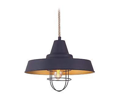 Lámpara de techo Annick - negro
