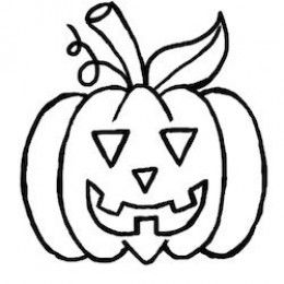 How To Draw A Pumpkin For Halloween: A Simple Tutorial for Kids By Heather Broster
