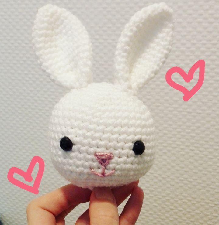 crochet bunny free