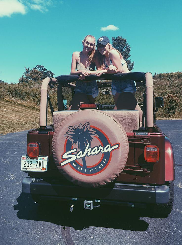 girls jeep sahara